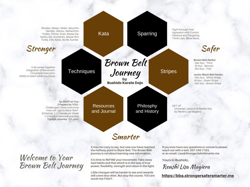 Bushido Karate Dojo: 5. Brown Belt