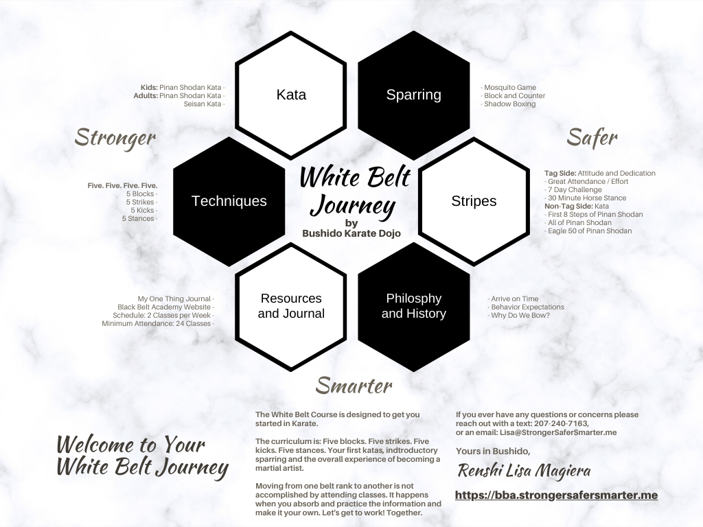 Bushido Karate Dojo: 1. White Belt